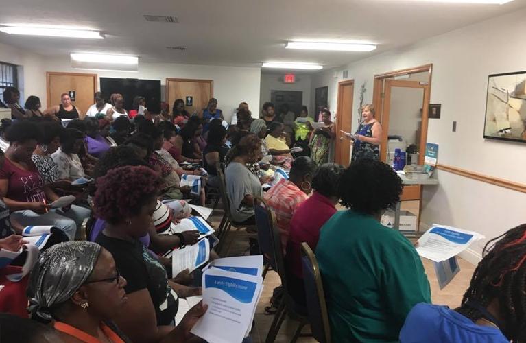 Particpants at the homeownership program