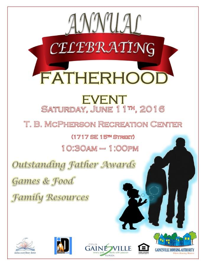 Fathers day 2016 flyer