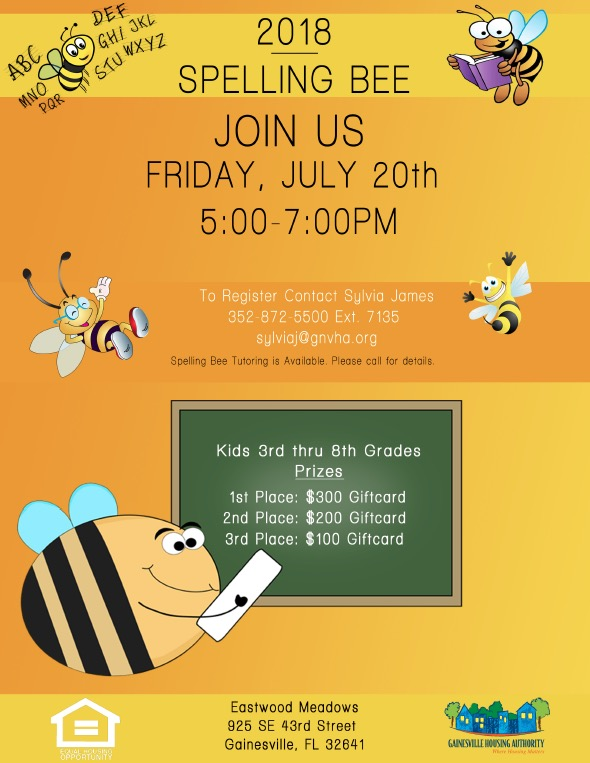 Spelling Bee | Gainesville Housing Authority