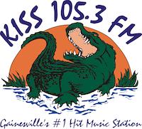 Kiss 105.3 logo