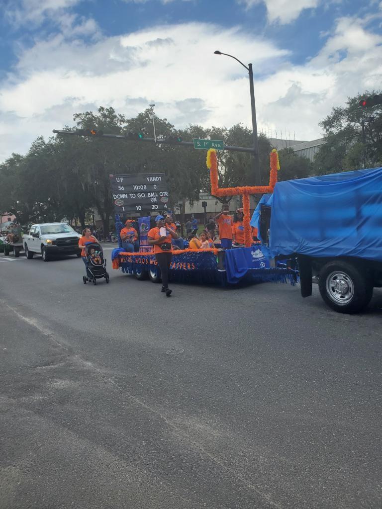 UF Homecoming Parade 2021